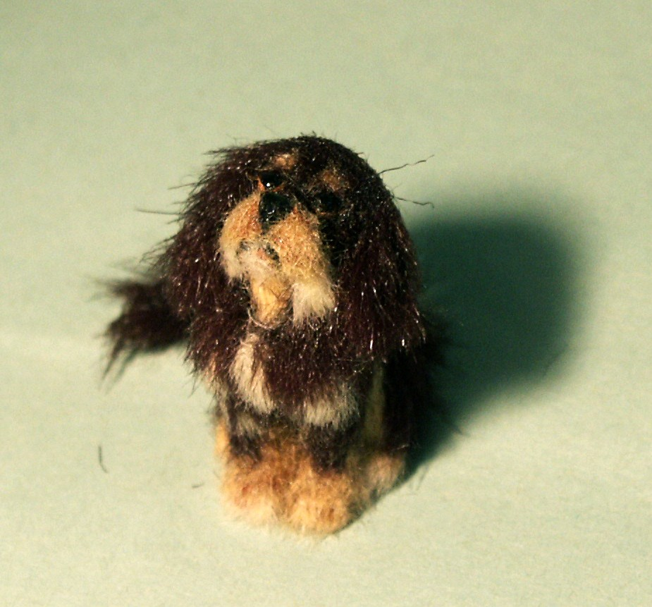 Cavalier King Charles Spaniel for the dolls house