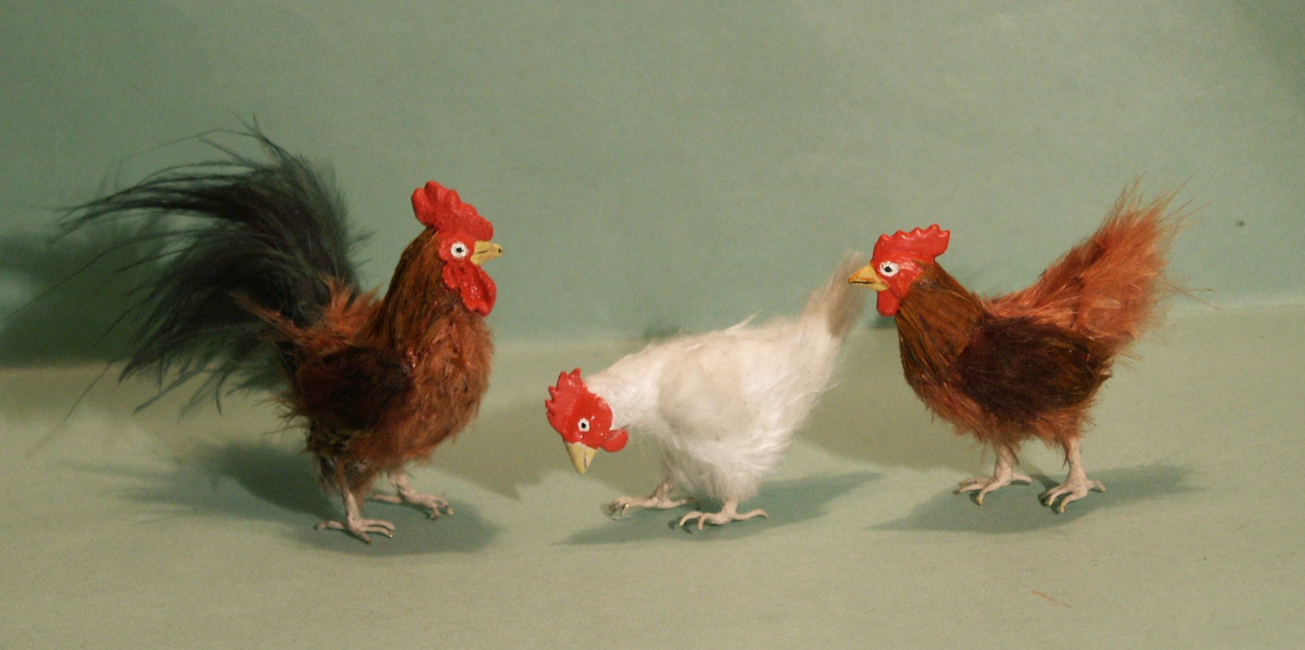 Chickens for the dolls house