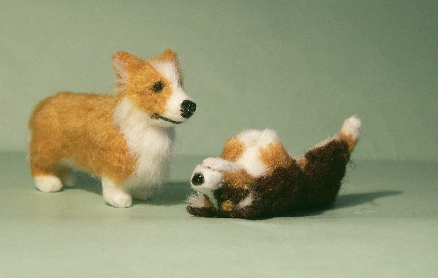 Corgi for the dolls house