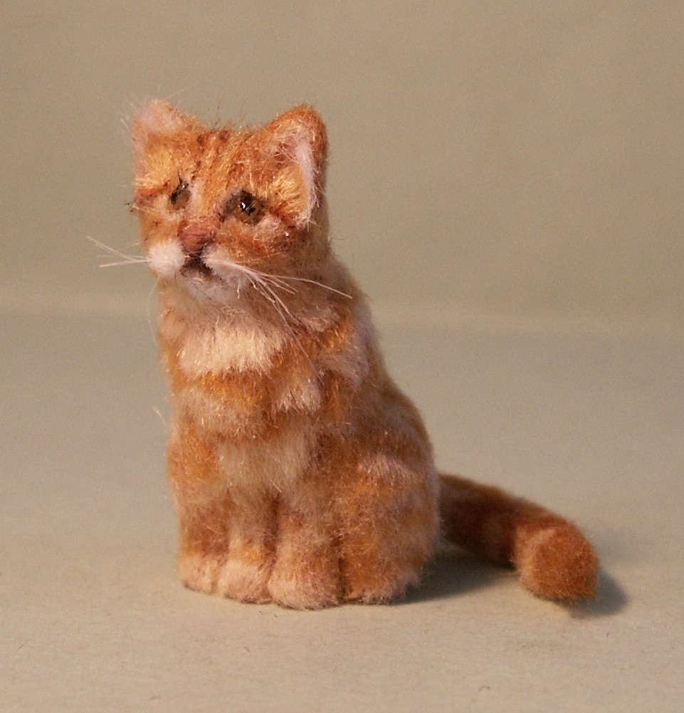 Dolls house cat