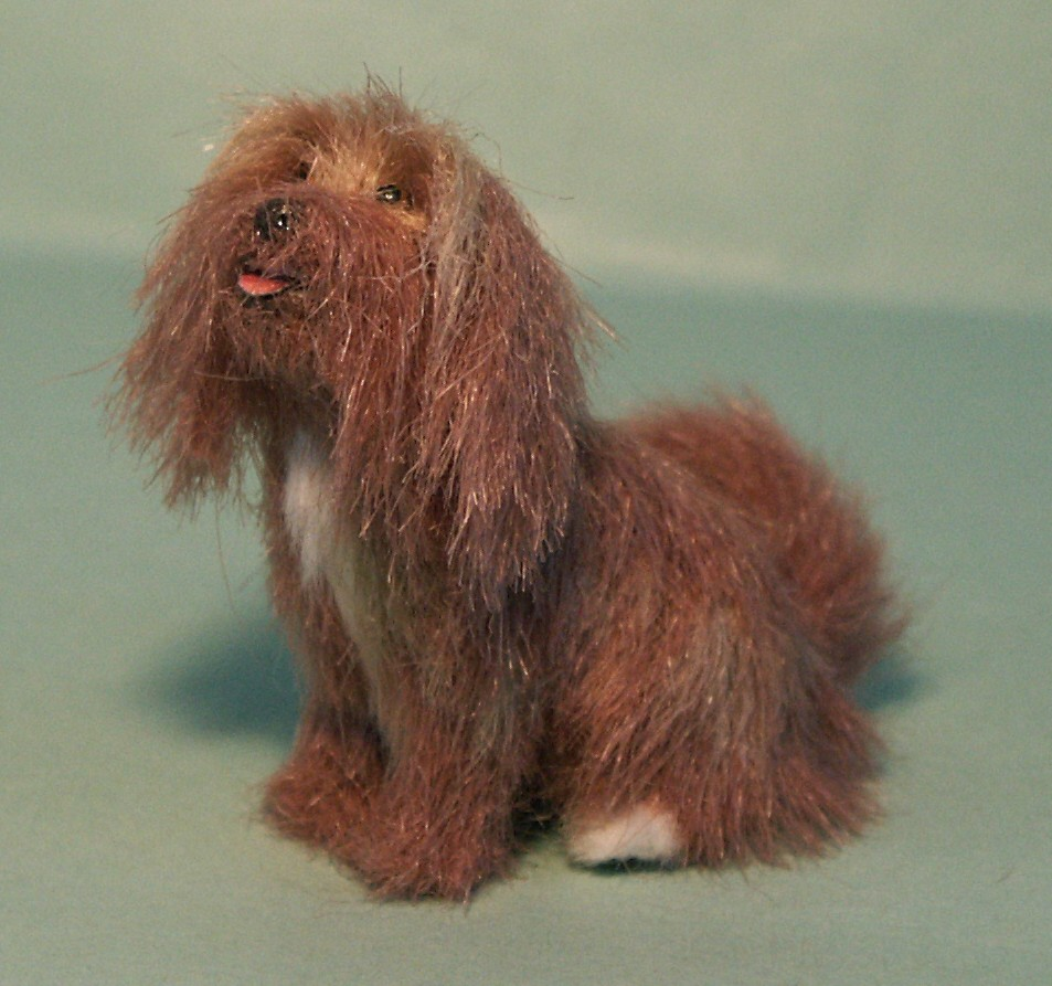 Tibetan Terrier for the dolls house